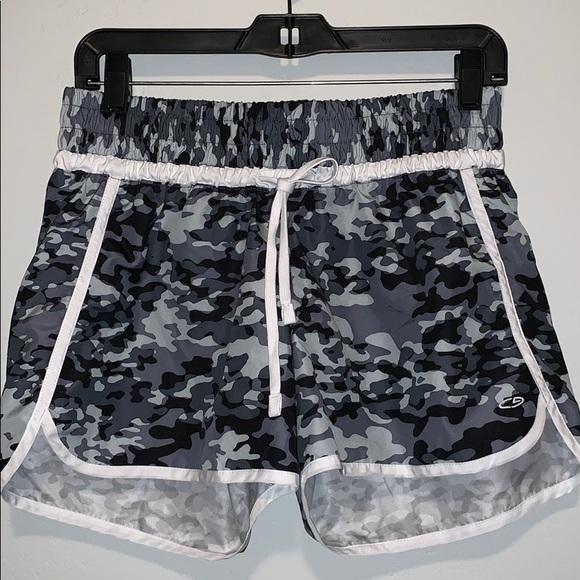 C9 By Champion Women's Shorts Size XS Black /& Grey Mesh Athletic Running